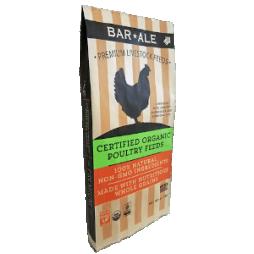 Organic 18% Soy-Free Corn-Free Layer Pellet