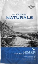 Diamond Naturals Beef Meal and Rice Dog Food