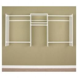 Easy Track 4' TO 8' Basic Starter Closet Organizer