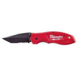 Milwaukee Spring Assisted Serrated Knife