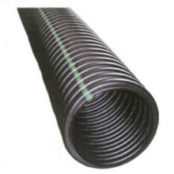 Corrugated Solid Single Wall Drainage Pipe 4