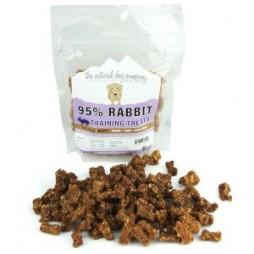 Natural Dog Company 95% Rabbit Training Bites - 6 oz