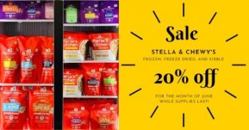 Stella & Chewy's Frozen, Freeze Dried, and Kibble Sale