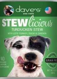 Stewlicious Turducken Stew Canned Dog Food