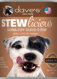 Stewlicious Gobbledy Good Stew Canned Dog Food