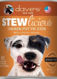 Stewlicious Chicken Pot Pie Stew Canned Dog Food