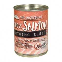Against The Grain 100% Salmon & Nothing Else Canned Dog Food