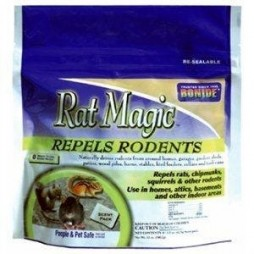 Rat Magic Rodent Repellent, 12 ounce, 8 scent packs