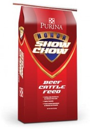 Honor Show Chow Finishing Touch Show Cattle Feed, 50 pound bag
