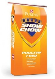 Honor Show Chow Poultry Grower-Finisher, 50 pound bag