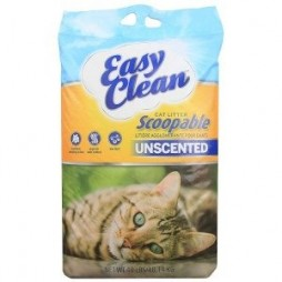 EasyClean Scoopable Litter– Unscented