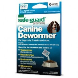 SAFE-GUARD® CANINE Dewormer- Med