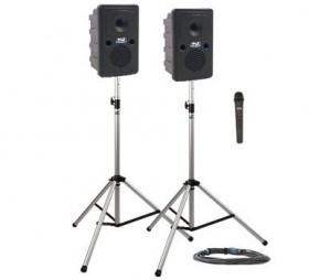 Anchor Go-Getter Dual Speaker PA System Wireless Handheld Microphone