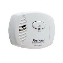 Carbon Monoxide Detector, Battery Operated