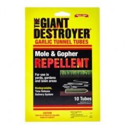 Mole/ Gopher Garlic Tunnel Tube Repellent