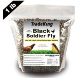 Tradeking Dried Soldier Fly Chicken Treat-1 lb