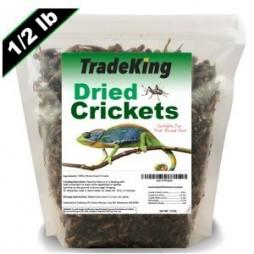 Tradeking ½ lb. Dried Crickets Chicken Treat