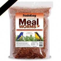 Tradeking Natural Dried Mealworms - 5lb