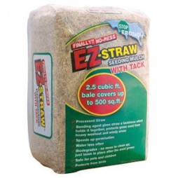 EZ-Straw Seeding Mulch With Tack, 500-Sq. Ft.