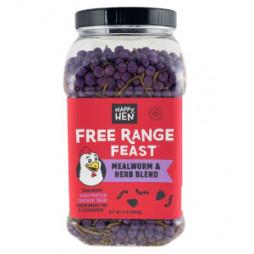 Happy Hen Free Range Feast™ Mealworm & Herb Blend