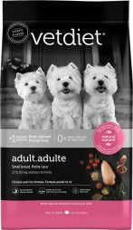 VetDiet Adult - Small Breed Chicken and Rice Formula