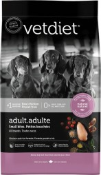 VetDiet Adult - Small Bites. All Breeds. Chicken and Rice Formula
