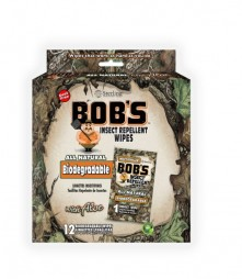 Bob's Insect Wipes-DEET FREE