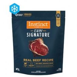 Instinct® Raw Signature™ Frozen Medallions Real Beef Recipe