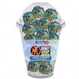 Fresh Baked Donut HOLES for dogs - JACK FROST 15ct