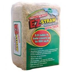 EZ STRAW® Seeding Mulch w/ Tackifier - 2.5cf