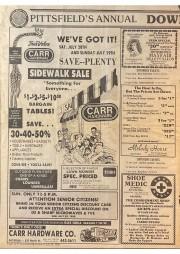 Annual Sidewalk Sale AD 1991