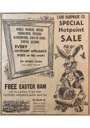 Easter Ham AD 1962