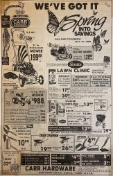 Spring into Savings Sale - May-1989