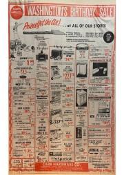Washingtons Birthday Sale Feb 1979