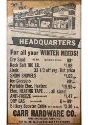 Winter Needs Jan 1968