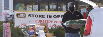 All stores are open, plus we offer curbside pickup!