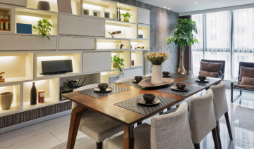 THE REINVENTION OF THE DINING ROOM