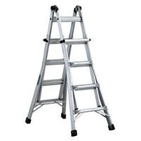 17-ft Type IA Aluminum Multi-position Ladder