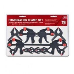 Ace 16 pc. Combination Clamp Set