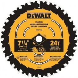 DeWalt 7-1/4 in. Dia. x 5/8 in. Tungsten Carbide Tipped Circular Saw Blade