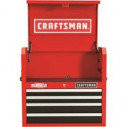 Craftsman 26 in. 4 drawer Metal Open Till Tool Chest