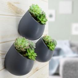 Round Wall Planter Matte Series