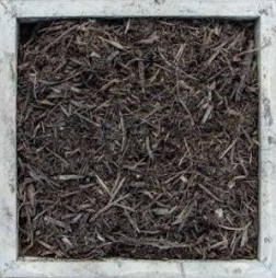 3 CUF Shredded Hardwood Mulch
