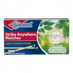 Diamond Greenlight Strike Anywhere Kitchen Matches