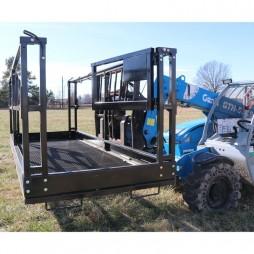 Titan TLEBSK4X98 Man Lift Cage