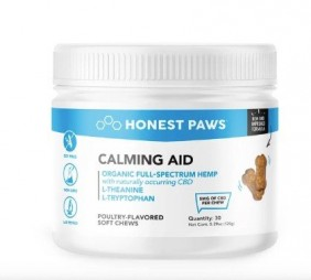 Honest Paws Calming Aid - CBD Soft Chews