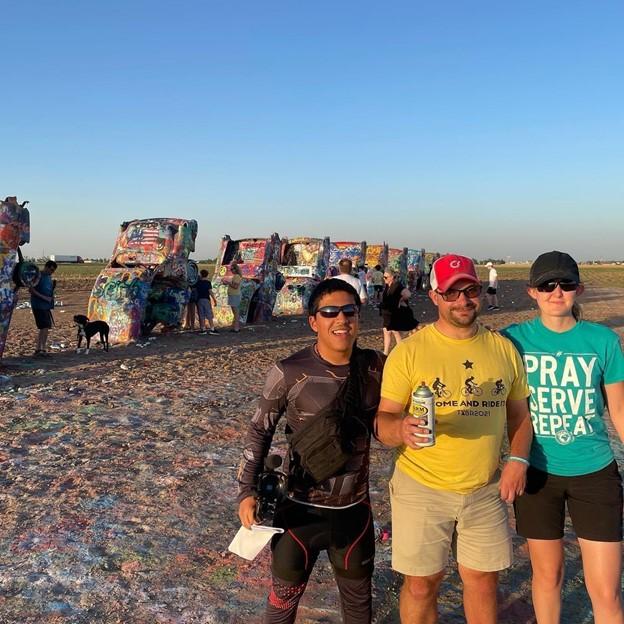 Texas scouting trip alongside Jay Carlson and Leah Hardin