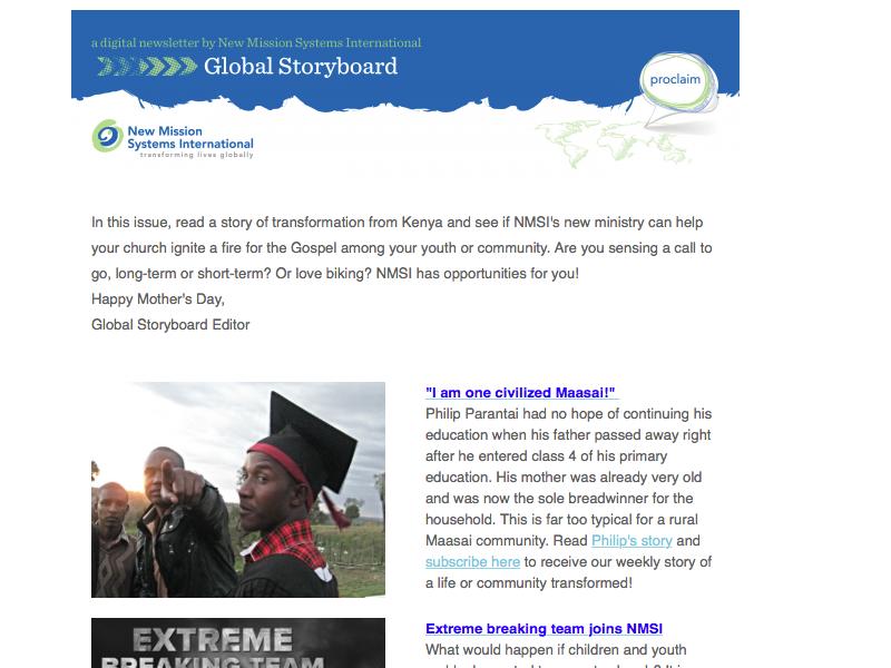 Global Storyboard May 2015 - New International