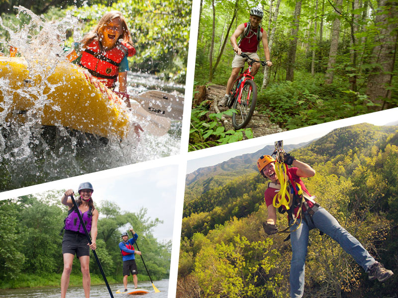 Nantahala River Adventures – Rafting, Mountain Biking, Lake Paddling and Zip Lining!