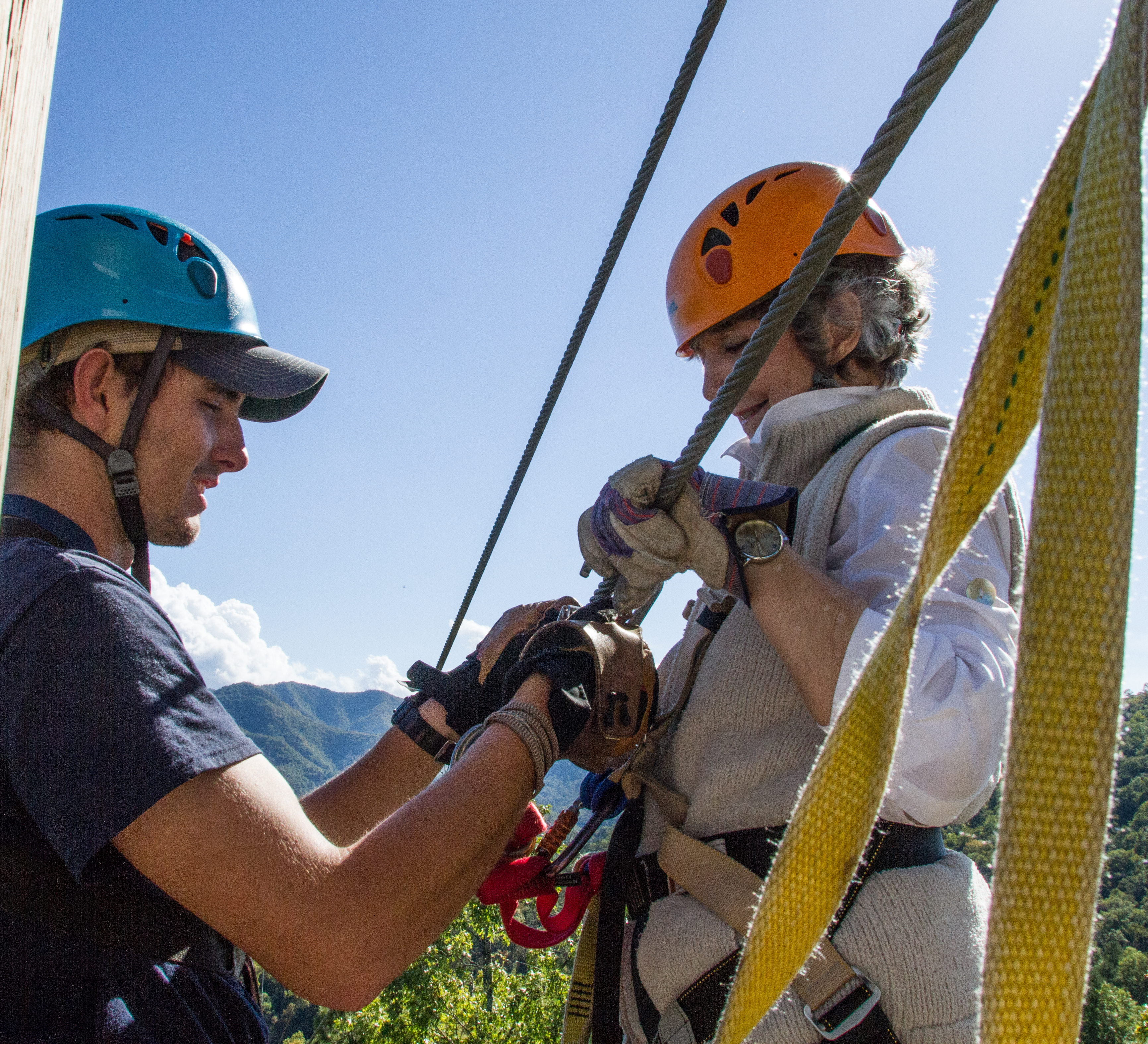 NOC's Mountaintop Zip Line Tour